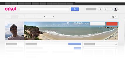 Orkut barra integração Google