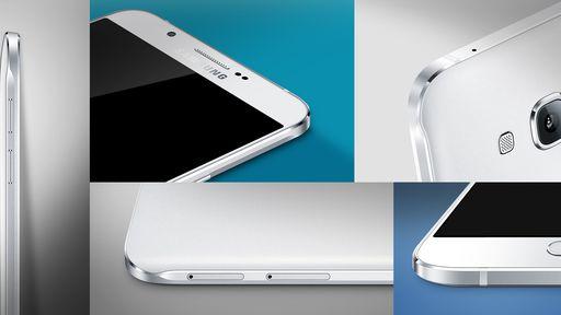 Samsung anuncia o Galaxy A8, smartphone mais fino da história da empresa