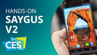Saygus V2: o smartphone mais potente do mundo [Hands-on | CES 2015]