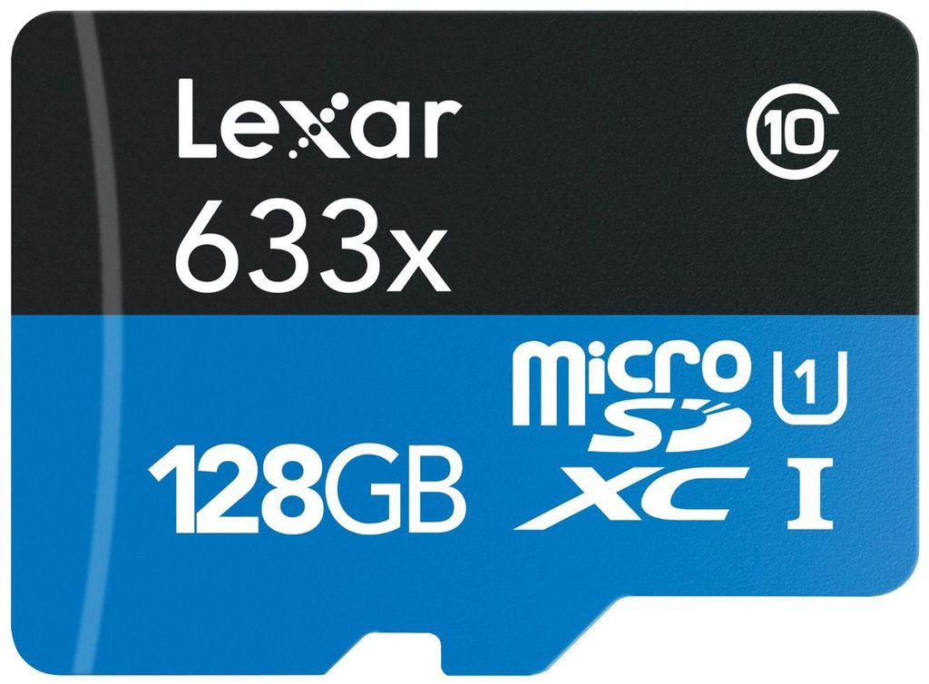 Lexar 128GB microSD card