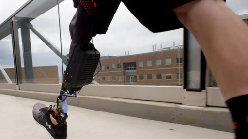 Exoesqueleto inteligente ajuda amputados a caminharem com menos esforço