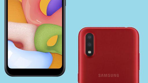 Galaxy M01 pode ser mais um modelo de entrada da Samsung em 2020