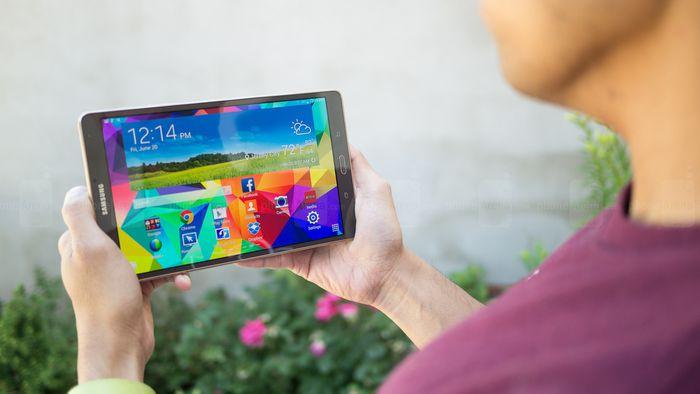 Samsung Galaxy Tab S 8.4 terá tecnologia de reconhecimento de íris