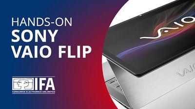Ultrabook Sony VAIO Flip: diferente de tudo o que você já viu! [Hands-on   IFA 2