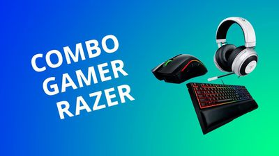 Combo gamer: mouse, teclado e headset da Razer