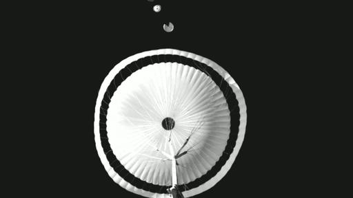 ESA tem sucesso em 1º teste de alta altitude com paraquedas da missão ExoMars
