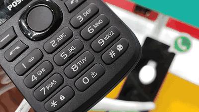 Positivo apresenta celular com botão WhatsApp e notebooks com tecla Netflix