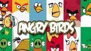 Álbum de figurinhas do Angry Birds