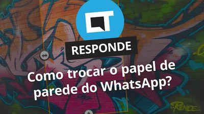 Como trocar o papel de parede nas conversas do WhatsApp? [CT Responde]
