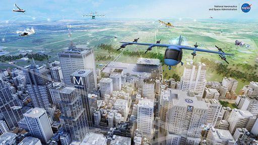 NASA começa a testar táxis aéreos elétricos; você teria coragem de andar em um?