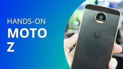 Moto Z: Hands-on do aparelho