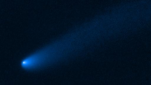 Telescópio Hubble observa cometa entre os asteroides que orbitam Júpiter