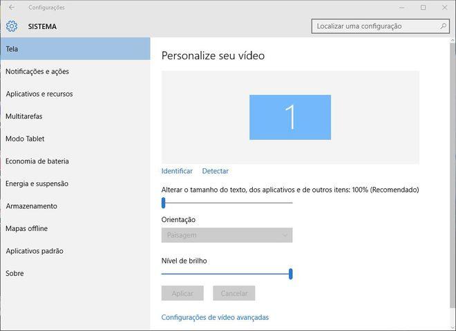 Display Windows 10