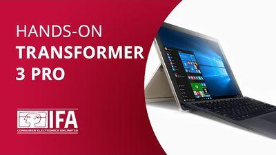 Transformer 3 Pro: a aposta da Asus para brigar com o Surface Pro e o iPad Pro [