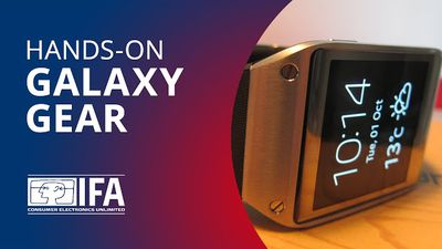 Testamos o Galaxy Gear, o novo smartwatch da Samsung [Hands-on | IFA 2013]