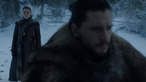 Game Of Thrones Jon Snow E Arya Stark Se Reunem Em Novo Teaser Canaltech