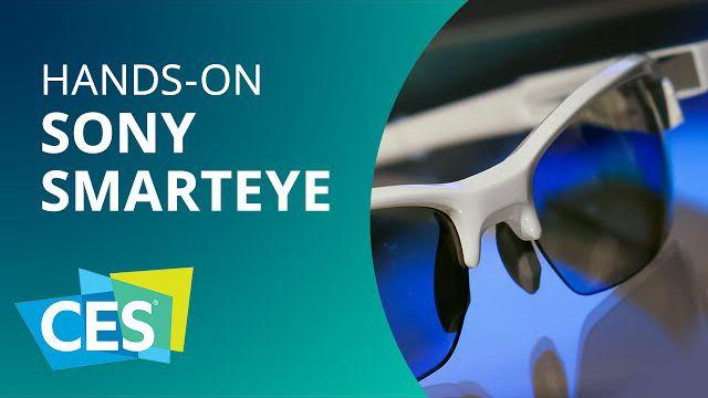 1623093dfe832 Sony SmartEye  transforma seu óculos comum em um smartglass  Hands-on   CES  2015 - Vídeos - Canaltech