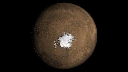 """""""Lagos"""" subterrâneos de Marte podem ser apenas argila congelada, segundo estudo"""