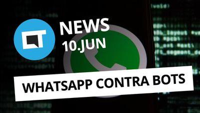 WhatsApp pode processar por spam; Huawei Oak OS em outubro; e + [CT News]