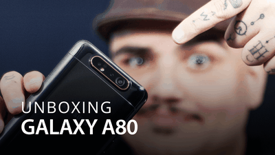 Samsung Galaxy A80 [Hands On/Unboxing]