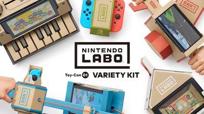 Nintendo apresenta Labo, coleção de acessórios de papelão para o Switch