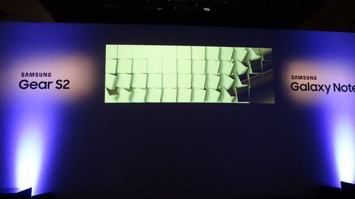 Samsung lança Gear S2 e Galaxy Note 5 no Brasil