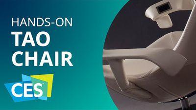 TAO Chair: faça exercícios sem muito esforço na frente da TV [Hands-on | CES 201