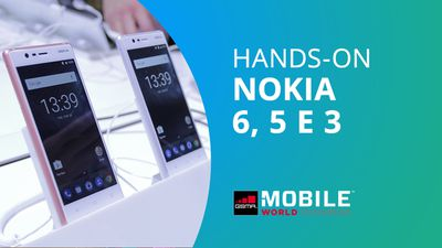 Nokia 6, 5 e 3 [Hands-on MWC 2017]