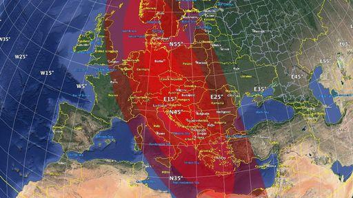 Europa é destruída por impacto de asteroide nesta simulação feita pela NASA