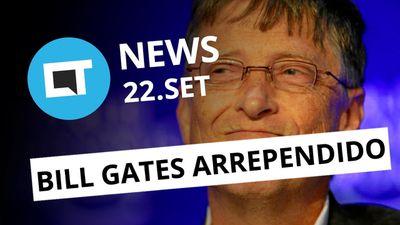 Sabe qual é o maior arrependimento de Gates?; Golpe no Facebook e+ [CT News]