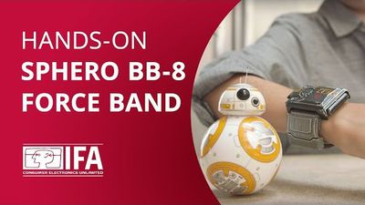 Testamos a BB-8 Force Band! [Hands-on IFA 2016]