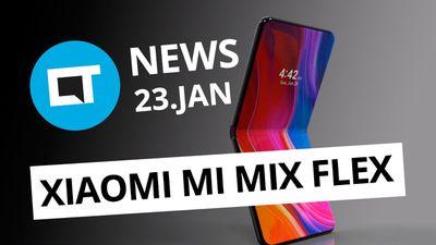 Claro quer franquias de internet fixa; Celular dobrável da Xiaomi e + [CT News]