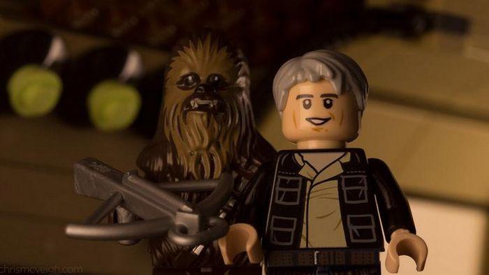 Fãs recriam trailer de 'Star Wars: O Despertar da Força' com peças de LEGO