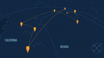 Project Loon avança transmitindo sinal de internet a 1.000 km de distância