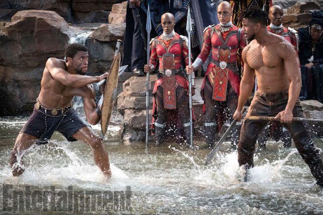 Luta entre T'Chala e Killmonger