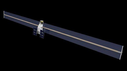 Espaçonave imprimirá e montará sozinha seus enormes painéis solares no espaço