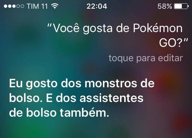 Siri Pokémon GO