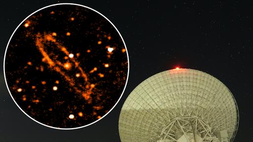 Essa é a imagem da galáxia de Andrômeda mais detalhada já feita via rádio