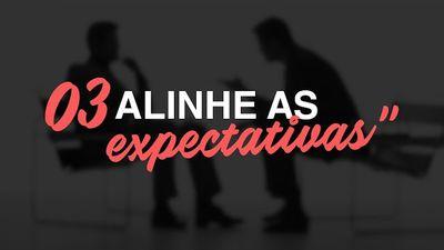 """Os 10 Axiomas da Carreira - #3 """"Alinhe as Expectativas"""""""