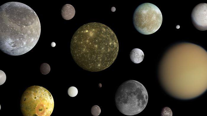 Quantas luas o Sistema Solar tem? Conheça satélites naturais além da nossa Lua!