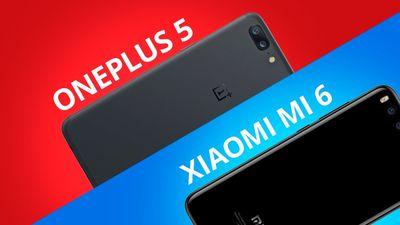 OnePlus 5 vs Xiaomi MI 6 [Comparativo]