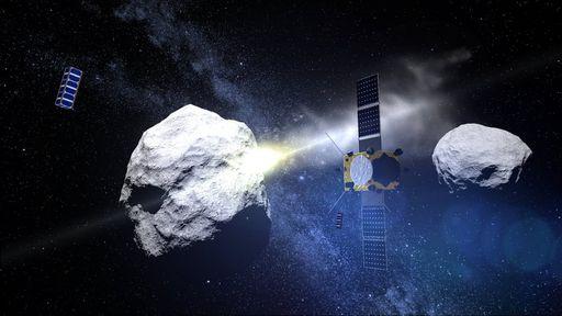 NASA pode criar chuva artificial de meteoros quando colidir nave com asteroide