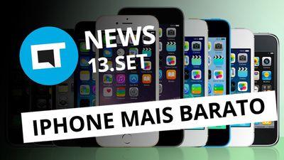 iPhones mais baratos no Brasil; Fundador do WhatsApp deixa a empresa e+[CT News]