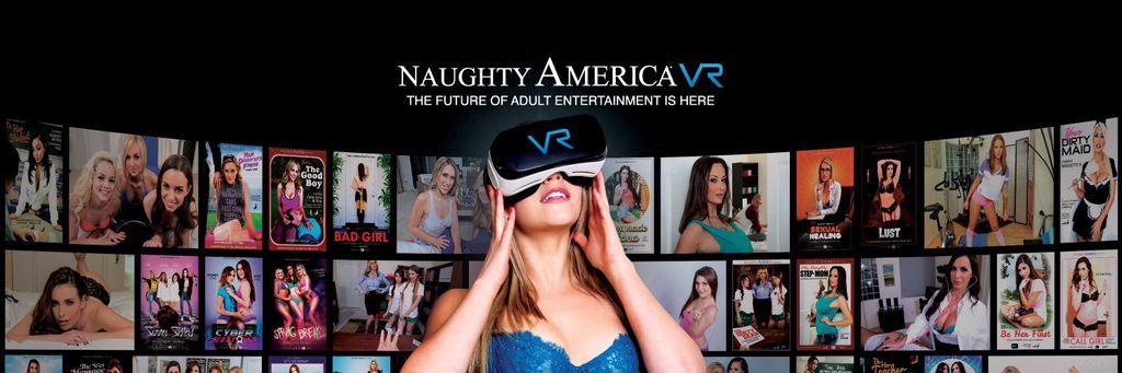 Pornô em realidade virtual - Naughty America