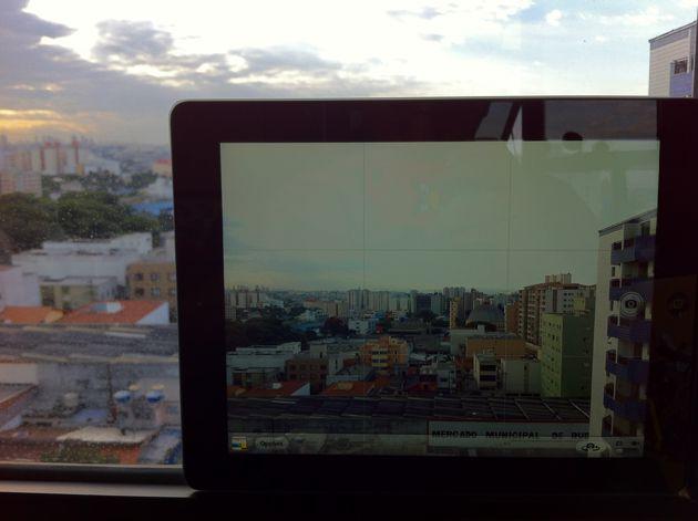 Câmera do novo iPad (Foto: André Fogaça/Ultra Downloads)