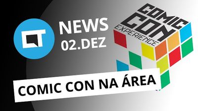 Comic Con Experience, Fim da linha Lenovo Vibe, Apple Watch redondo e + [CT News