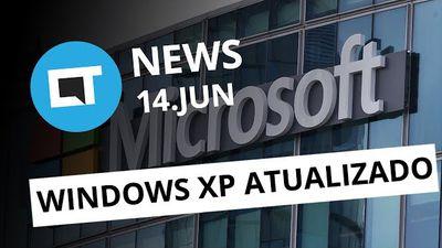 Windows XP recebe atualização de segurança; PS4 Pro e PS VR no Brasil e+ [CT New