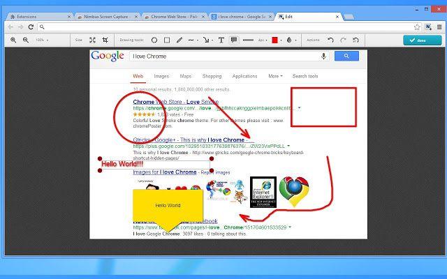 Com o Nimbus Screenshot nós podemos não só fazer captura de telas, como também editar a imagem on the fly antes de enviá-la para um amigo