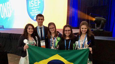 Quatro projetos brasileiros recebem os maiores prêmios da ISEF 2018