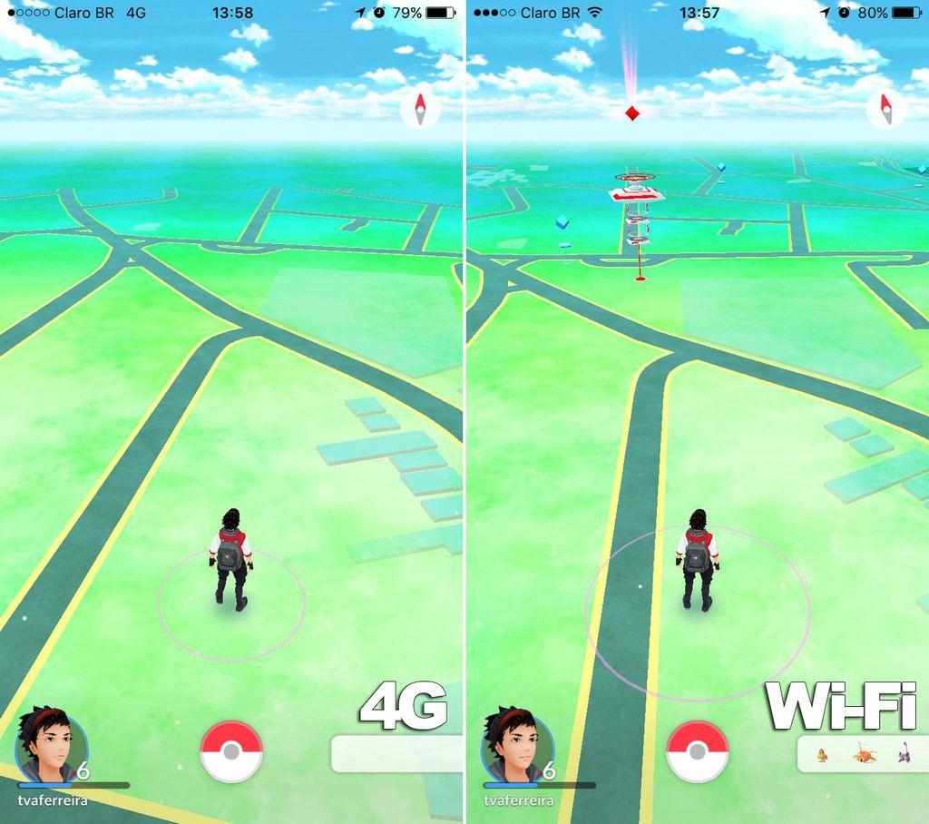 Pokémon Go Claro